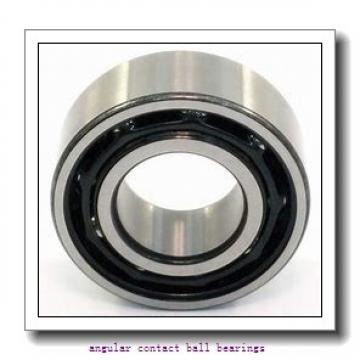 30 mm x 90 mm x 23 mm  ISO 7406 B angular contact ball bearings