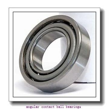 17 mm x 47 mm x 14 mm  FAG 7303-B-2RS-TVP angular contact ball bearings