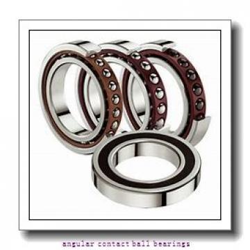 ISO 3207-2RS angular contact ball bearings