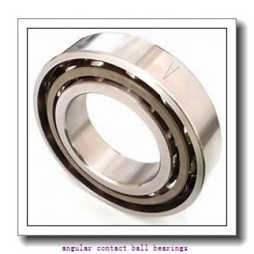 40 mm x 80 mm x 30,2 mm  ZEN S5208-2RS angular contact ball bearings
