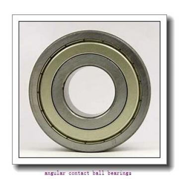 39 mm x 72 mm x 37 mm  Fersa F16036 angular contact ball bearings
