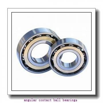 40 mm x 80 mm x 18 mm  Fersa QJ208FM angular contact ball bearings