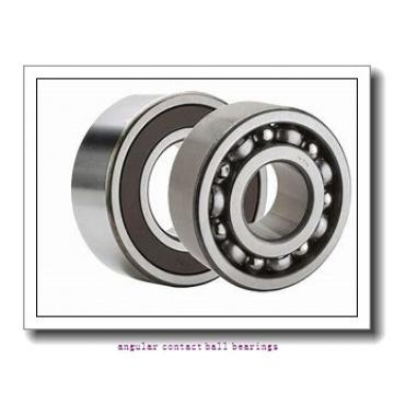 165 mm x 210 mm x 52 mm  KBC SDA0102 angular contact ball bearings