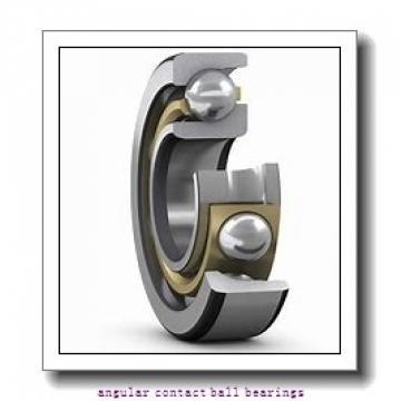 160 mm x 240 mm x 38 mm  NSK QJ 1032 angular contact ball bearings