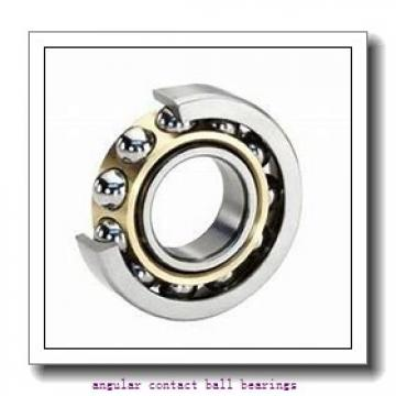 27 mm x 124 mm x 75 mm  PFI PHU590118 angular contact ball bearings