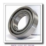 25 mm x 52 mm x 42 mm  Fersa F16129 angular contact ball bearings