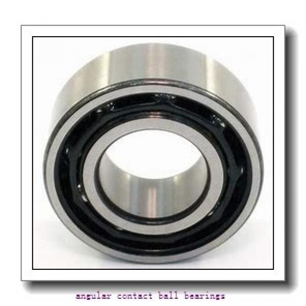 190 mm x 340 mm x 55 mm  FAG QJ238-N2-MPA angular contact ball bearings #2 image