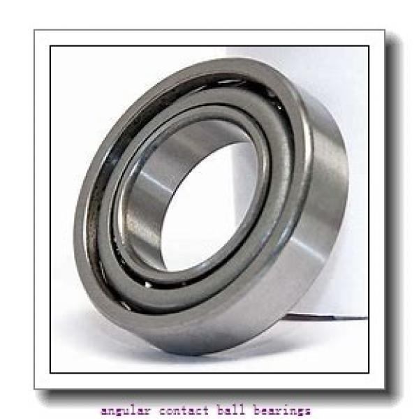 55 mm x 90 mm x 18 mm  FAG B7011-C-T-P4S angular contact ball bearings #2 image