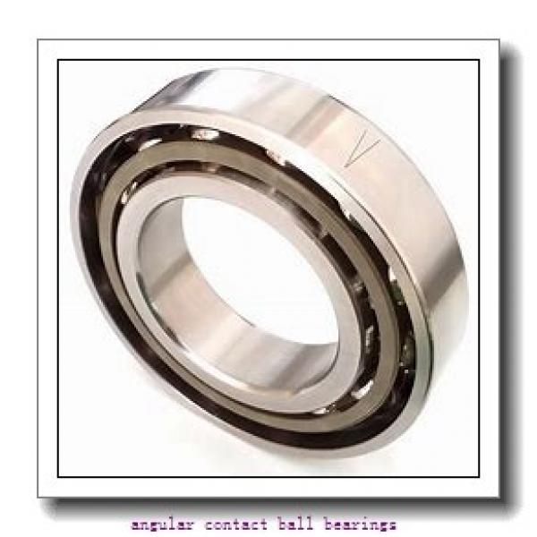 55 mm x 90 mm x 18 mm  FAG B7011-C-T-P4S angular contact ball bearings #1 image