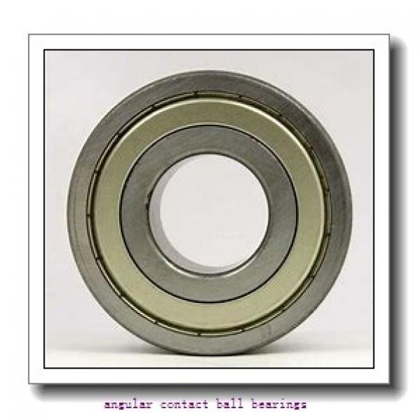 105 mm x 160 mm x 52 mm  SNR 7021HVDUJ74 angular contact ball bearings #1 image
