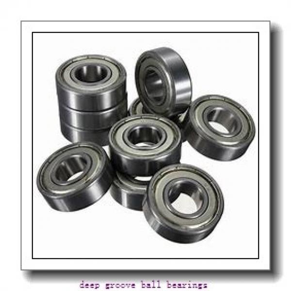 33 mm x 72 mm x 17 mm  Fersa 6207/33-2RS deep groove ball bearings #1 image